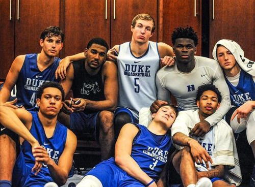 Why does Grayson Allen look so adorable here?