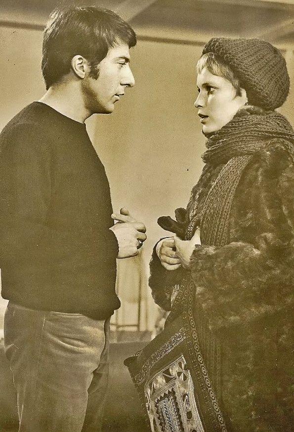 Dustin Hoffman and Mia farrow