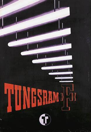 Tungsram plakát poster