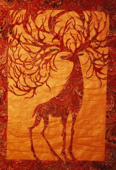 ebru paper | turkish marbling art ebru paper filigre cut kati sayit karabulut ...