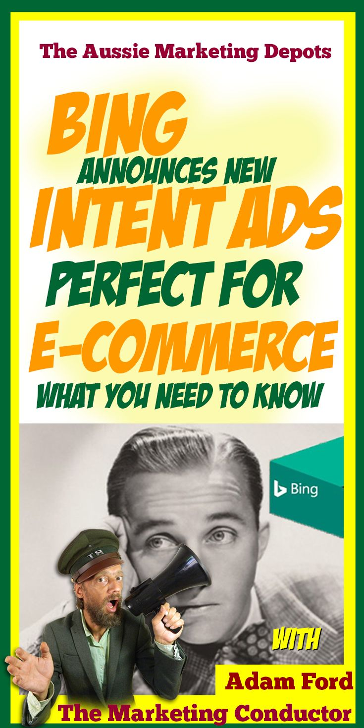 """The new format """"Intent Ads"""" announced today by #Bing show they have announced today appear to be an interesting play at mirroring some of #Adwords Display's more powerful big data-based audience monitoring capabilities #digitalmarketing"""