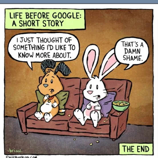 Lol. Sometimes I wonder how libraries functioned before the internet. Goodness.: Libraries, 90S Kids, Life, Google, Comic Books, Funny, Shorts Stories, 10 Years, True Stories