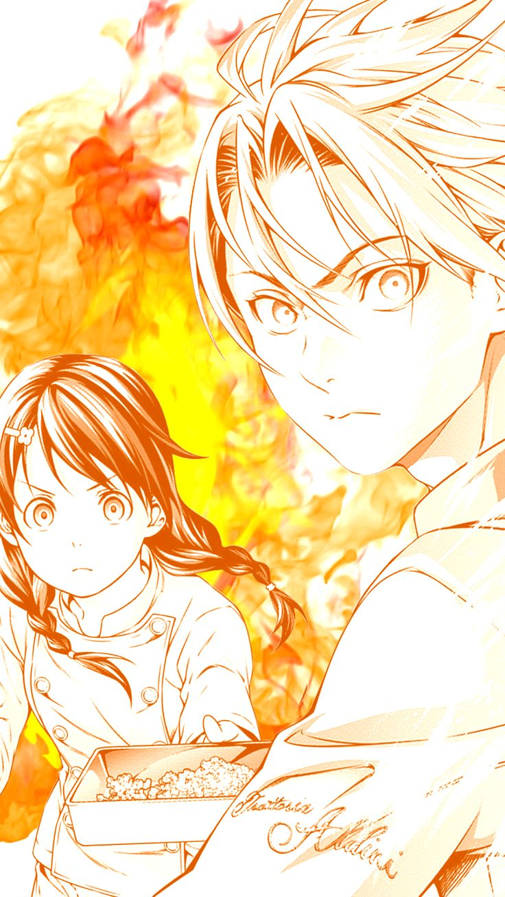 Shokugeki no Soma || Takumi and Megumi