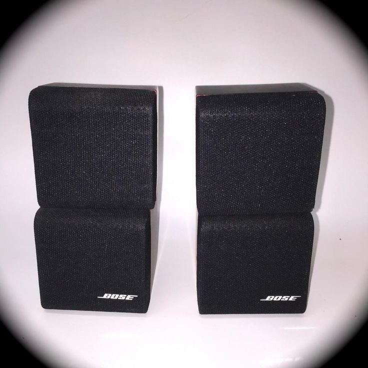 Bose Acoustimass 5 Series II  2 dual-cube  SPEAKERS #BOSE
