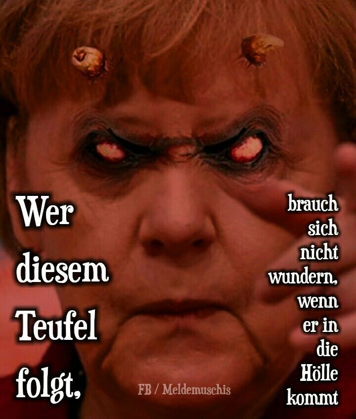 Merkel Teufel