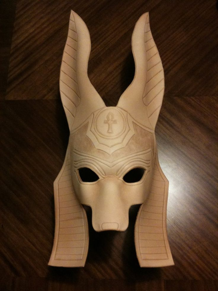 WIP Anubis Mask by ~senorwong on deviantART