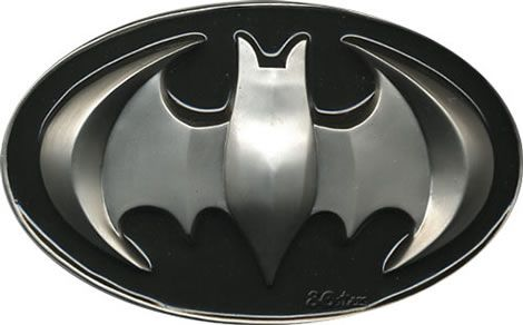 Raised Batman Belt Buckle