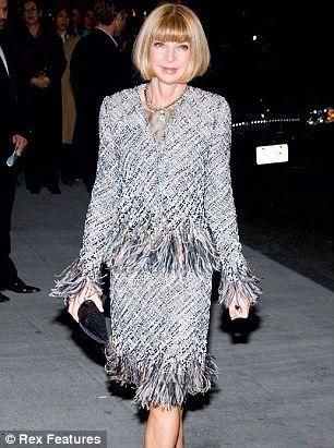 The Chanel suit #elclasico #classic #fashion #annawintour