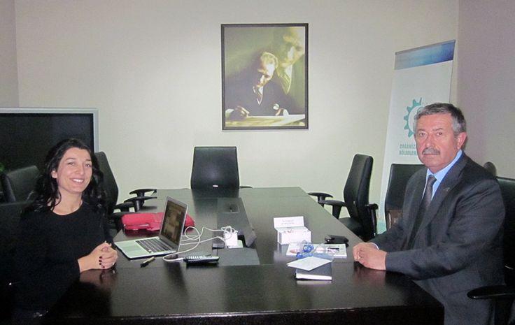 """Hüseyin Kutsi Tuncay röportajı: """"STK'lar güçlü ise demokrasi de güçlü olur"""" #anadoluosb #huseyinkutsituncay"""