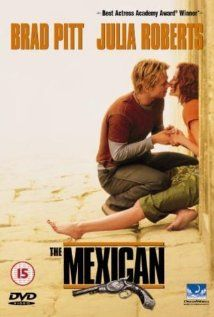 The Mexican is a romantic, action comedy about a man who must choose between his girlfriend or having to make a trip to Mexico to bring back a gun named the Mexican for his mob boss. The dialog is witty and the acting is very good, not Oscar worthy but with Brad Pitt, Julia Roberts and James Gandolfini, you only need their good enough to make the movie worthy of watching.