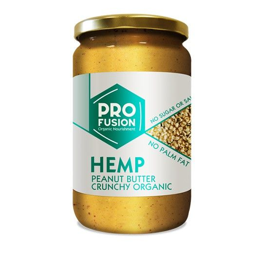 Pro Fusion Hemp Peanut Butter from Muscle Food - Peanut butter but with ADDED awesomeness!