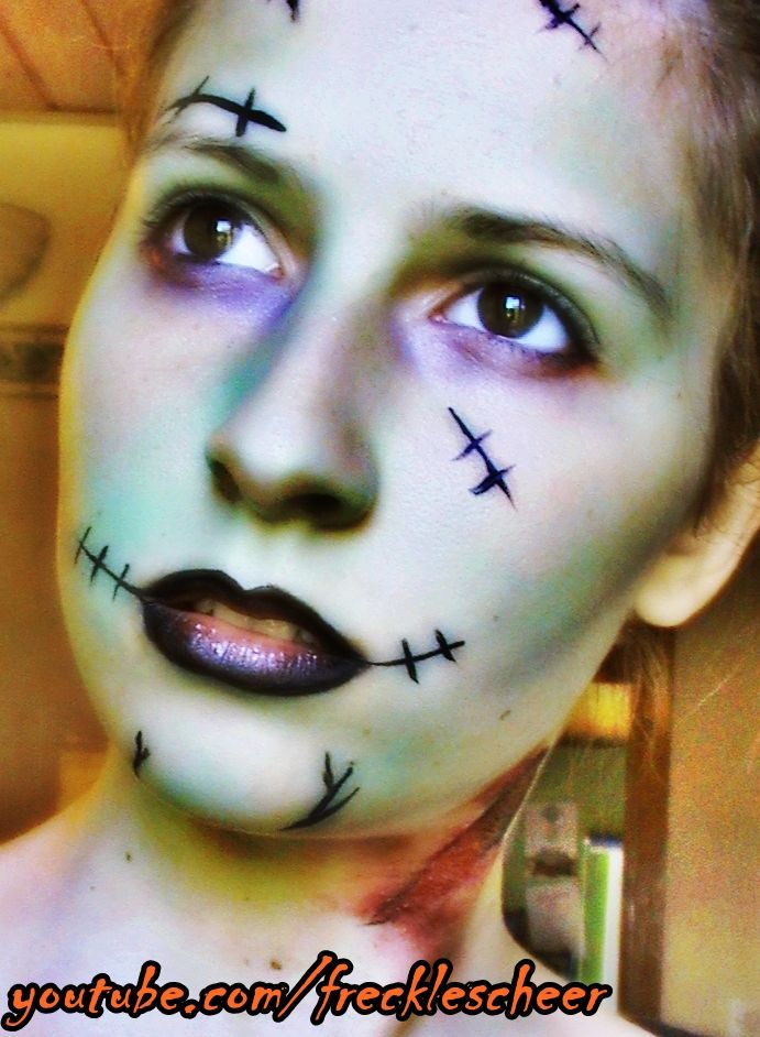 Best 25+ Pretty Zombie Makeup Ideas On Pinterest | Zombie Halloween Makeup Zombie Eye Contacts ...