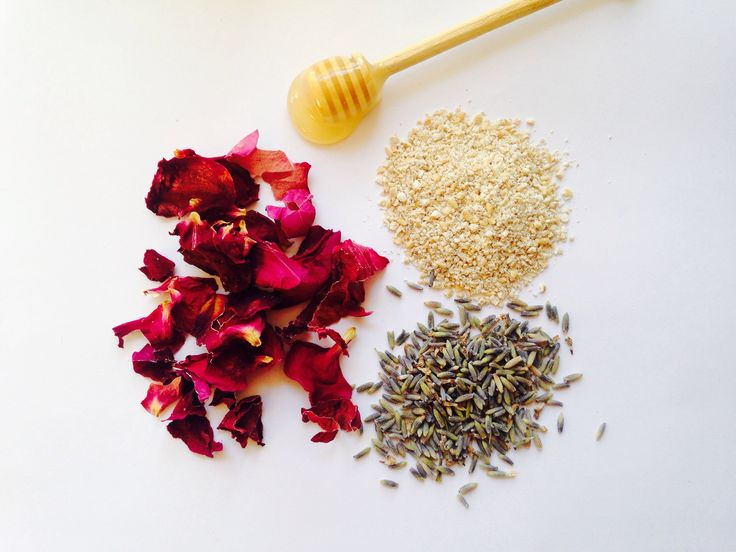 Gentle diy rose, lavender and honey face scrub. Smells divine and leaves skin fresh and revitalised.