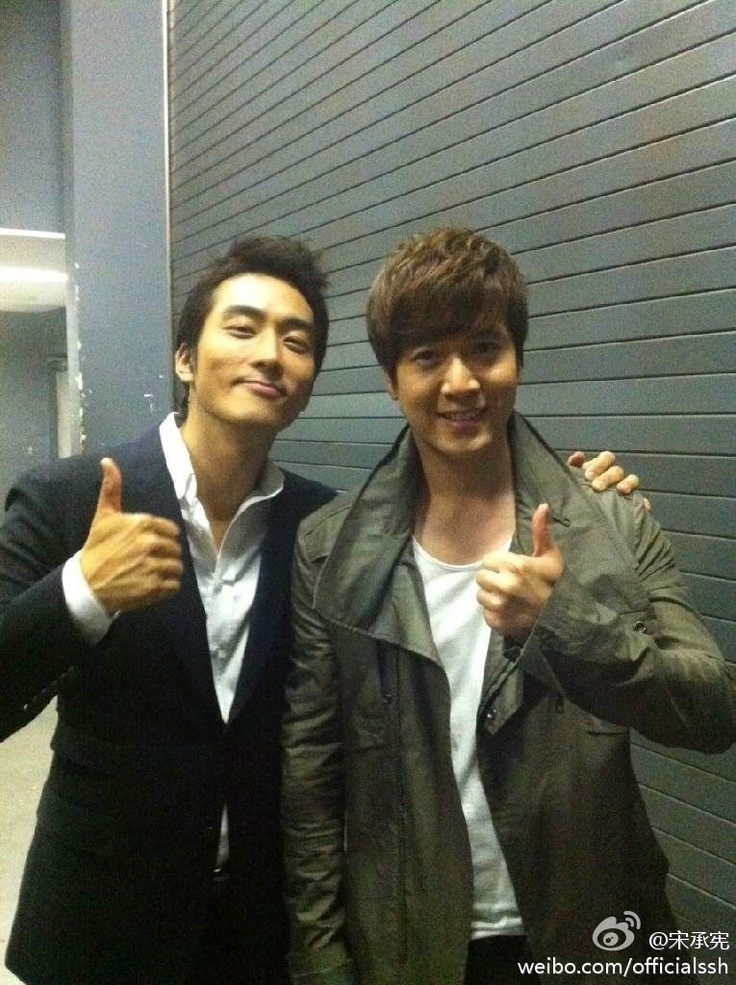 Song Seung Heon Holds Japan Fan Meeting with Jo Hyun Jae as Guest