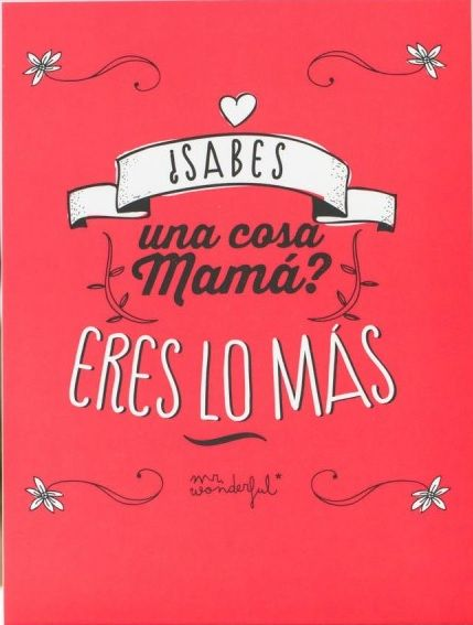 Mamá Mr. Wonderful