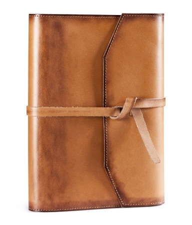 Leather notebook - I've always wanted one!