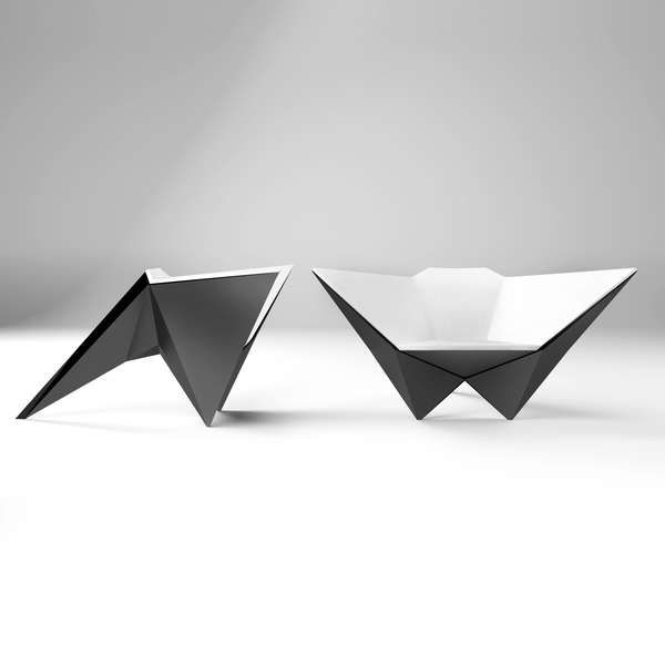 Idea Furniture best 25+ origami furniture ideas on pinterest | industrial design