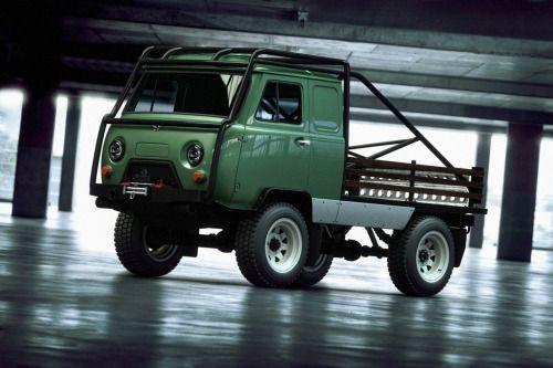 Russian UAZ custom