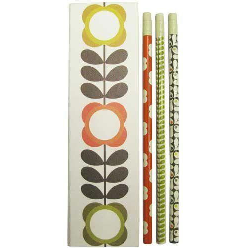 Orla Kiely 6 Pencil Set - All That I Need