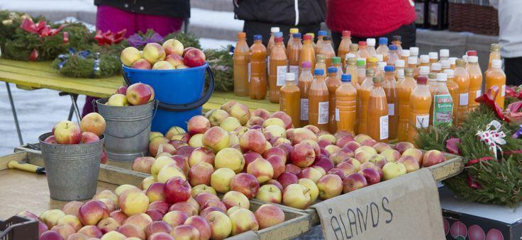 Christmas market in Närpes every year in November. Photo: Johanna Nyberg