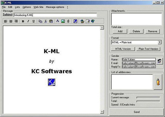 Resultado de imagen para KC Softwares K-ML