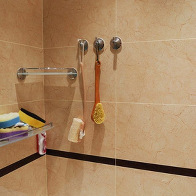 Wiping down your shower walls every day prevents soap scum.
