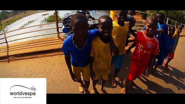 St.Louis to Bamako - Around the world on a Vespa  #VespaClub Volos http://vespaclubvolos.com/