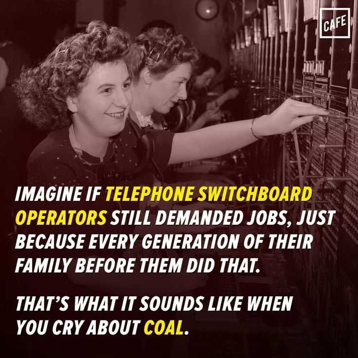 Or factory jobs. The industries are dead. They can't magically reappear. You either adapt and learn new skills or you retire. Sucks, but it's life and progress.