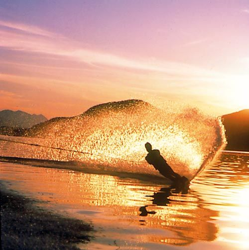 Learn to waterski #PrincessCruises offers a wonderful variety of fun excursions for those of us that love adventure #Travel and escape in the exhiliration of trying something new or again