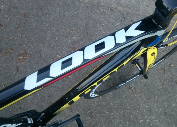 Take the groudbreaking Look 695. Make it aero. The end result - perfection. www.cycle-art.co.uk
