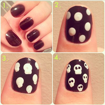 halloween-skull-nails-manicure-tutorial