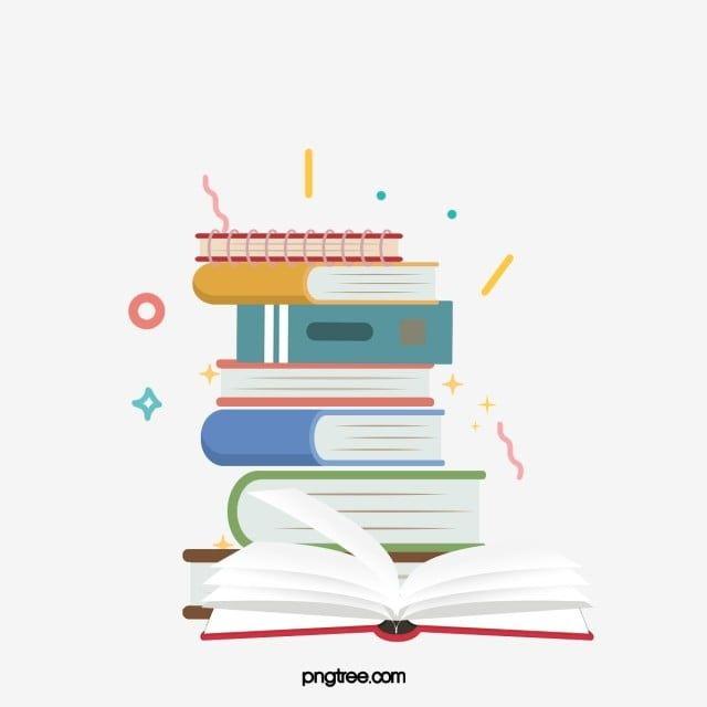 Gambar Ilustrasi Hiasan Cerucuk Buku Kartun Buku Clipart Setumpuk Buku Buku Png Dan Psd Untuk Muat Turun Percuma Cartoon Books Free Paper Texture Coloring Books