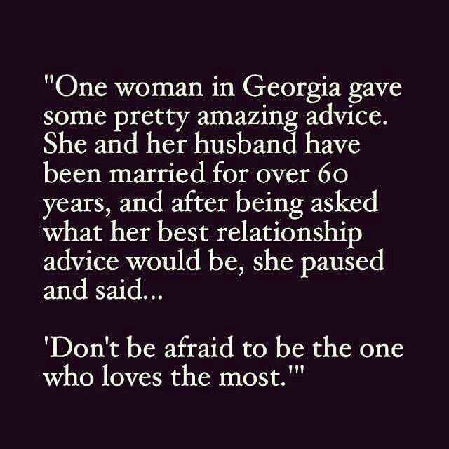 Don't be afraid to be the one who loves the most♡