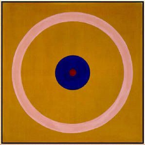 Kenneth Noland, Kenneth Noland, Brass Sound, 1962 on ArtStack #kenneth-noland #art