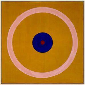 Kenneth Noland, Kenneth Noland, Brass Sound, 1962 on ArtStack #kenneth-noland #art