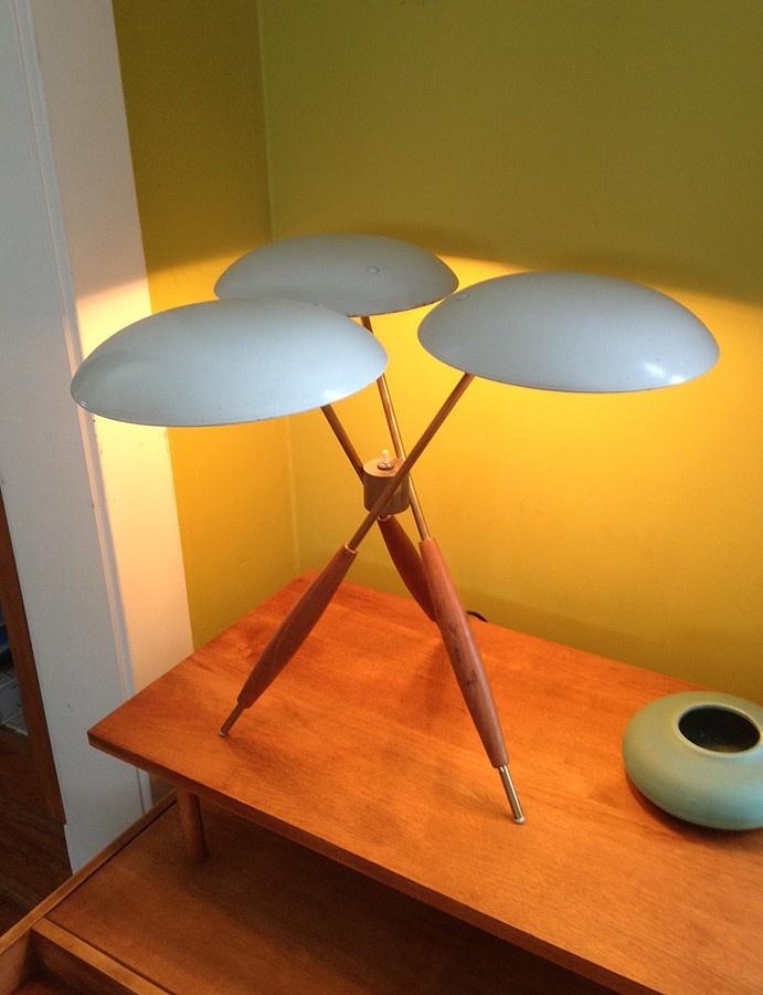 Tripod Lamp by Gerald Thurston  1200   Valparaiso http   furnishly com    Danish ModernMidcentury. 251 best images about Mid Century Modern on Pinterest   Toronto