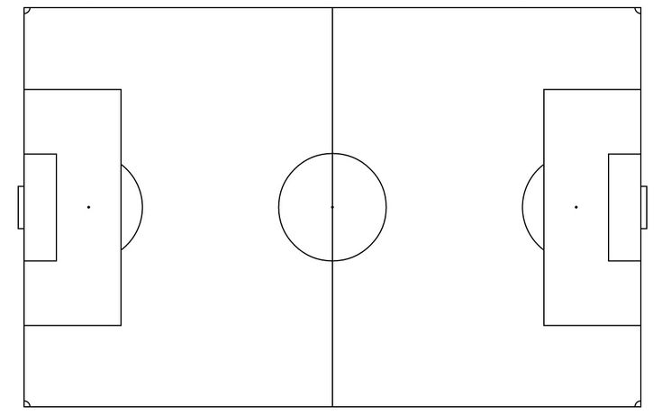 The Astounding Free Soccer Field Template  Download Free