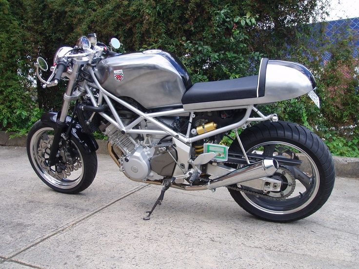 One of the better cafe racer examples!