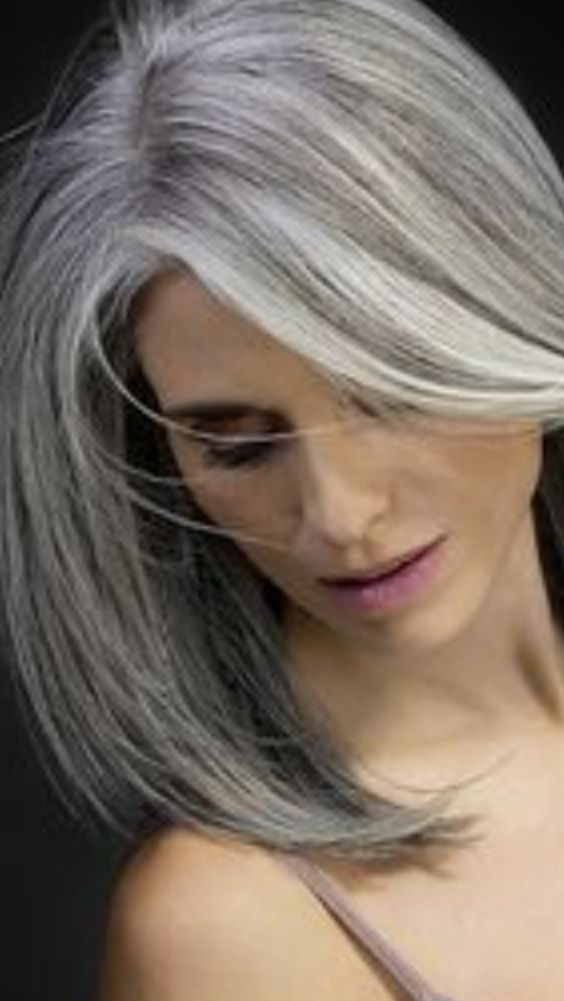 The 25 best gray hairstyles ideas on pinterest grey for Gorgeous in gray