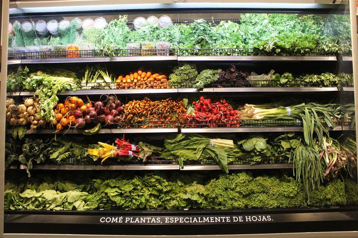 Frutas y verduras orgánicas 100%.