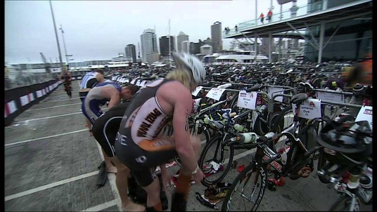 2013 IRONMAN 70 3 Auckland Event Highlights