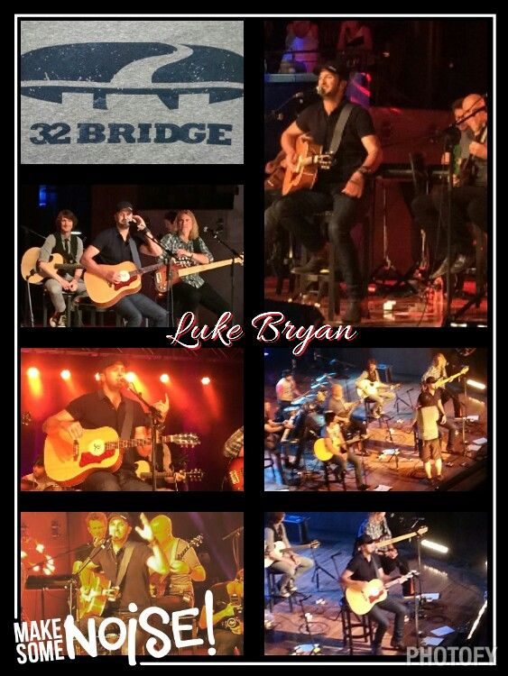 Luke Bryan Fan Club Party @ Country Music Hall of Fame and Museum 6-12-2015 #NutHouse