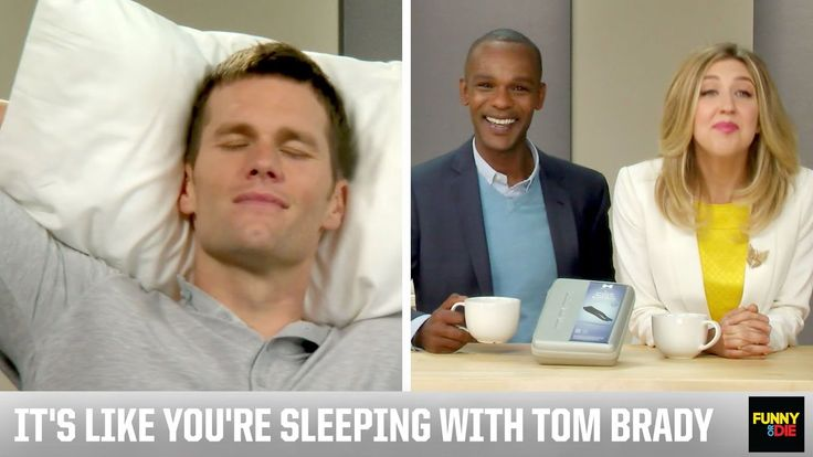 This. Is. HILARIOUS! Love the Tom Brady Sound Machine!  It's like sleeping with Tom Brady!!