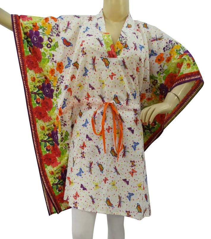 Pleasant colors Dress Kafthan Caftan FREE or PLUS SIZE Gift for her mini summer dress- sleep wear robe Cafthan  hippie kafthan Best seller by colorfuloutlet on Etsy