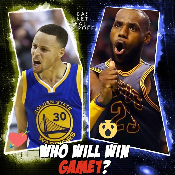 Who is going to take game 1 :o Lebron James and his band of Cleveland Cavaliers <3 or Stephen Curry and the Splash boys of the Golden State Warriors?  Most importantly why?