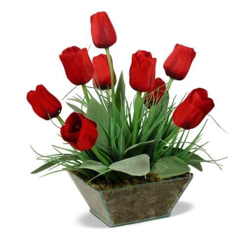 Arranjo Tulipa 35x 22 cm
