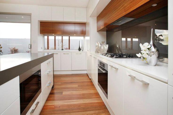 Make your handles a feature of the kitchen, not just a necessary item to open cupboards. These handles match the appliance handles and the chrome accessories... (From our Coolum display home at Blackwood Park, Craigburn Farm)
