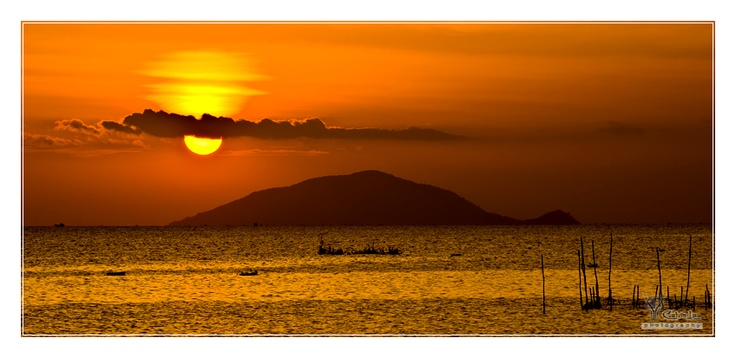 Rach Gia - Vietnam.  Since the island looks like a turtle, I'd decided to name it Turtle Island  :)