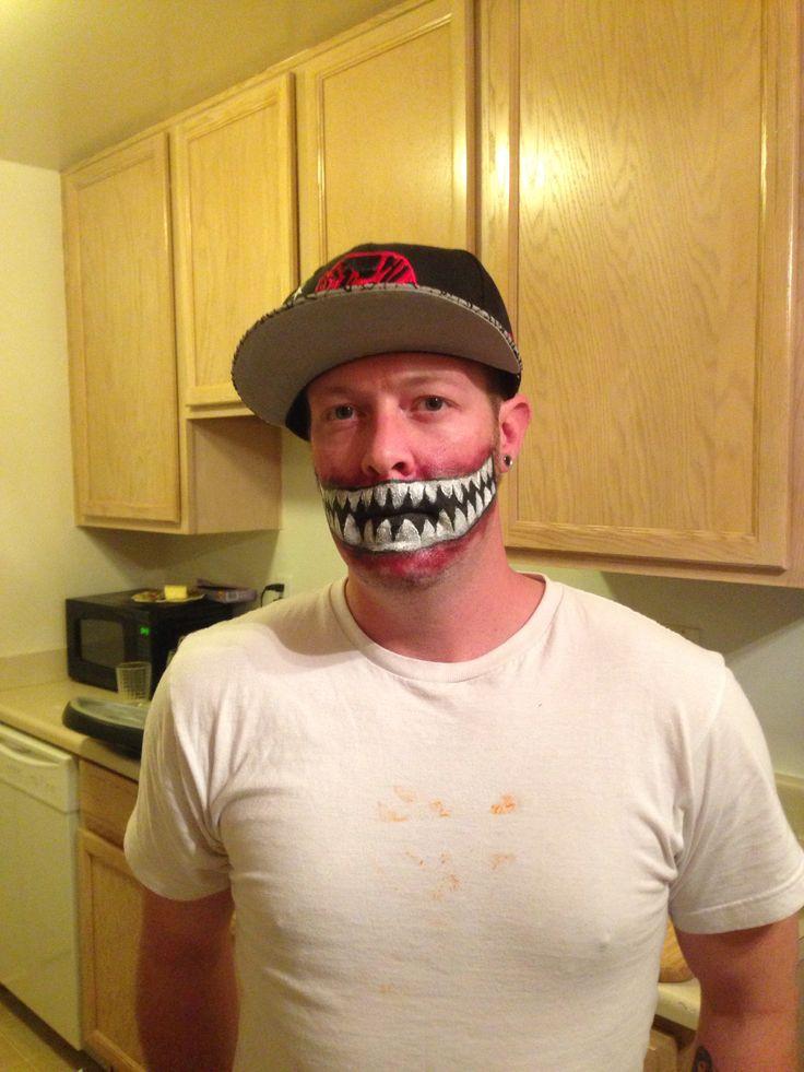 scary halloween face paint - Scary Face Paint Ideas For Halloween