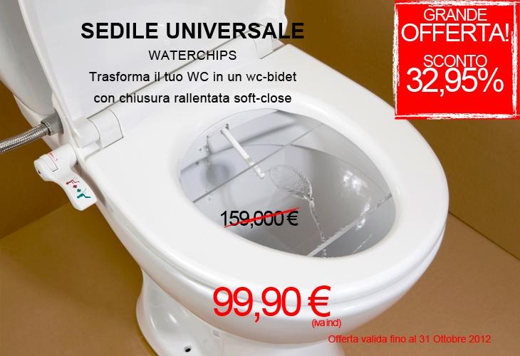 #SEDILE #WC-#BIDET UNIVERSALE SOFT-CLOSE